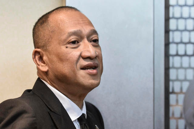 Datuk Seri Nazri Aziz said Prime Minister Tan Sri Muhyiddin Yassin should return to Umno and take charge as its president. — Picture by Miera Zulyana