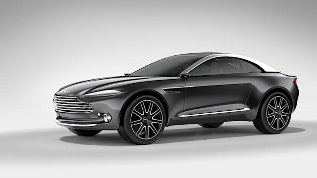 Upcoming Aston Martin SUV suspected to have over 700hp